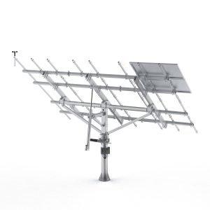solar tracker mounting